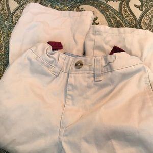 Boys size 3T khaki pants with adjustable waist